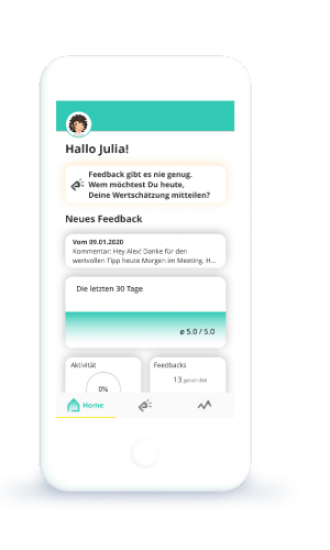 Dashboard-easypraise-Feedback-App